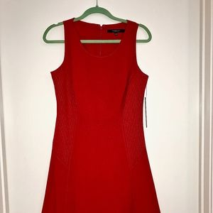 Andrew Marc Dress NWT (Red, size 8)